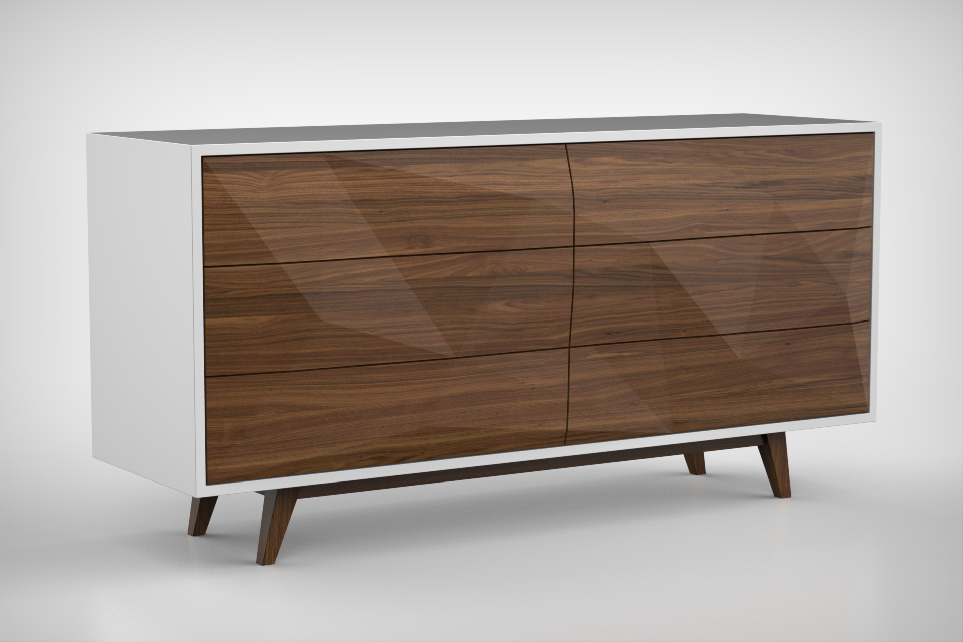 Faceted Credenza