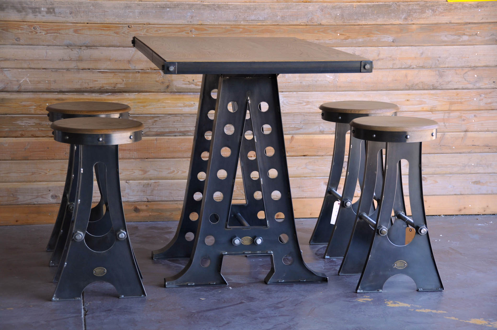 A Frame Bar Stool