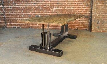 Post Industrial Table Base